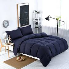 solid white duvet cover queen solid cotton duvet covers home textilesnavy blue solid color style bedding