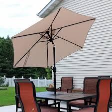 5 Foot Patio Umbrella by 7 5 Foot 8 Foot Patio Umbrellas You U0027ll Love Wayfair Ca
