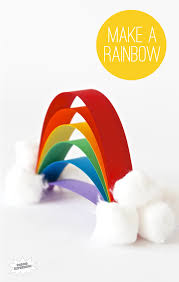 rainbow kids craft that is super easy paging supermom