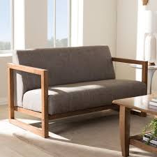 Upholstered Loveseat Chairs Living Room Furniture Furniture The Home Depot