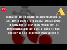 what does the word robot come from