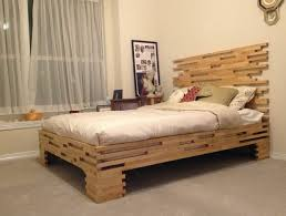 fascinante cheap wood bed frames make l shaped wood bed frames