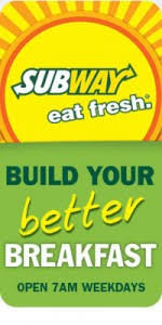 subway reward card earn 50 bonus points