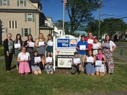 ridgefield students receive presidents volunteer service award