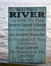 river home decor advice river wood sign 18x12 painted wood sign