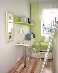 Small Bedroom Grey Walls Idyllic Grey Wall Scheme Withgreen Wooden Book Shelf Painting Look