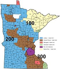 Map Mn Mn Deer Zone Map My Blog