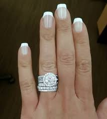 wedding ring and band wedding ring with band best 25 stacked wedding rings ideas on