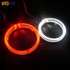 halo rings red images 80mm 95mm optical lens led angel eyes halo ring cob auto halo jpg