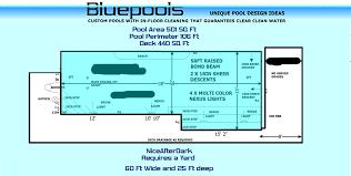 Deep Backyard Pool by In Ground Pool Design