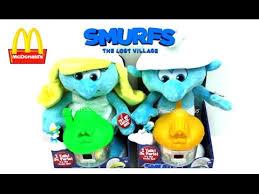 2017 mcdonald u0027s smurfs happy meal toys lost village talking