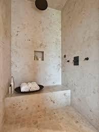 Travertine Bathroom Floor Travertine Shower Houzz