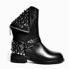 low heel popular cut pu leather boots boots increase best 25 motorcycle boots ideas on black