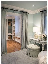 Curtains As Closet Doors Closet Curtains Best 25 Closet Door Curtains Ideas On Pinterest
