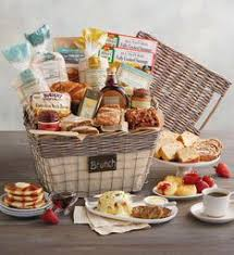 breakfast baskets breakfast gift baskets brunch gifts totes wolferman s