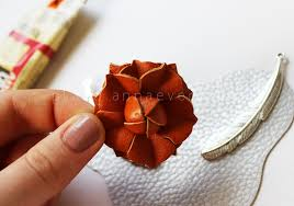 diy leather necklace images Diy leather floral necklace anna evers diy fashion blog jpg