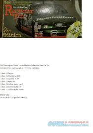 target ammunition remington black friday remington 22 race car tin 1997 350rds of ammo for sale