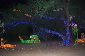 Zoo Lights by Zoo Turns Into A Musical Light Extravaganza Arizona Destinations