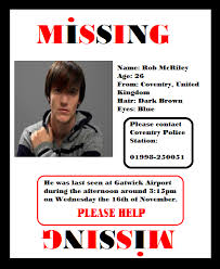 doc 14031984 make a missing person poster u2013 missing person