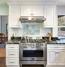 kitchen backsplash splash board kitchen patterned floor tiles