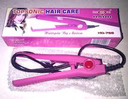 Catok Rambut Yg Kecil jual laris catok mini haidi pelurus rambut pusat alat