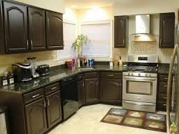 Kitchen Cabinets Before And After Kitchen Beautiful Painted Black Kitchen Cabinets Before And