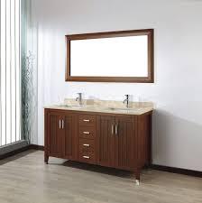 60 Vanity Menards Art Bathe Jackie 60 Cherry Double Bathroom Vanities Marble Or