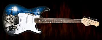 jaxville guitars jaxville the skull guitar