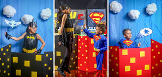 Superhero Photo Booth Batman V Superman Party Ideas