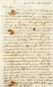 letter from eli whitney jr to his father regarding his invention