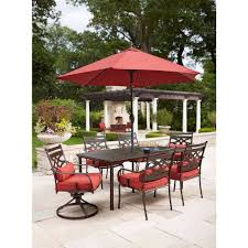 Patio Furniture Dining Sets With Umbrella - home depot dining sets bistro sets outdoor patio furniture patio