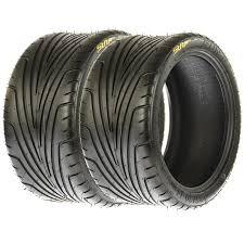 set pair 2 sunf low profile 185 30 14 18x7 14 atv sport road tires