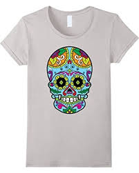 deal on womens lotta shirts sugar skull day of the