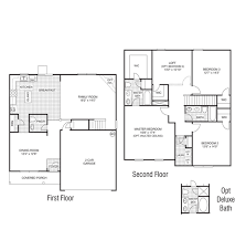 dr horton floor plan vivian the reserve at rock creek whitsett north carolina
