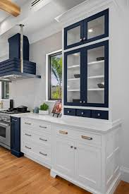 kitchen cabinets with blue doors feature project suncoast blues level line cabinets