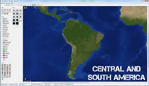 America Central Map by Central U0026 South America W Download Worldpainter Maps