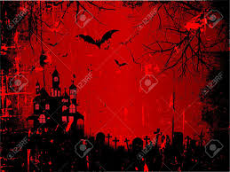 spooky house halloween spooky halloween background with a grunge style effect royalty