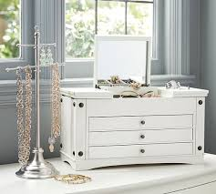 Jewelry Armoire Under 50 Ultimate Extra Large Jewelry Box Pottery Barn