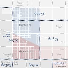 chicago zip code map zip codes galewood net