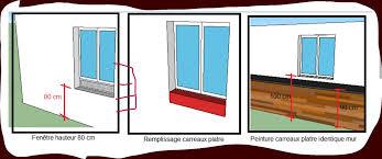 hauteur fenetre cuisine decoration faience pour cuisine 4 photo astuce pour fenetre