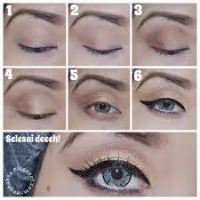 tutorial make up wardah untuk pesta esy beauty blog september 2014