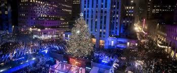 new york christmas tree lighting 2018 new york christmas 2018 zachary travel cruise center
