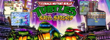 teenage mutant ninja turtles shell shocked arcade game