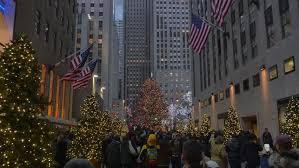 new york circa december 2012 rockefeller center christmas tree