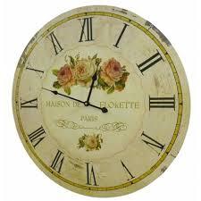 horloges murales cuisine horloge murale cuisine fleurs l héritier du temps