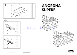 assembly instruction for storage furniture ikea anordna superb