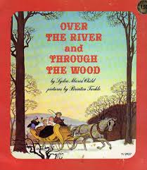 Thanksgiving Children S Books Vintage Kids U0027 Books My Kid Loves Over The River And Through The Wood