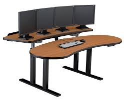pacs sit stand adjustable computer desk ergonomic desk houston tx