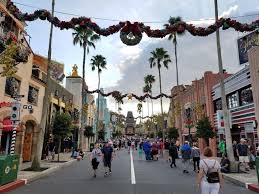 christmas decorations hit disney u0027s hollywood studios pics below