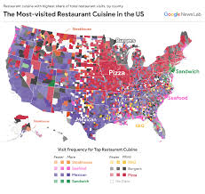 Google Maps Los Angeles What Is The Pizza Capital Of The Us U2013 Google News Lab U2013 Medium